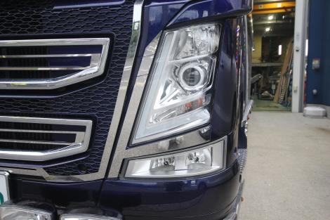 Headlight kit eyeliner for VOLVO FH4 <アイライン>