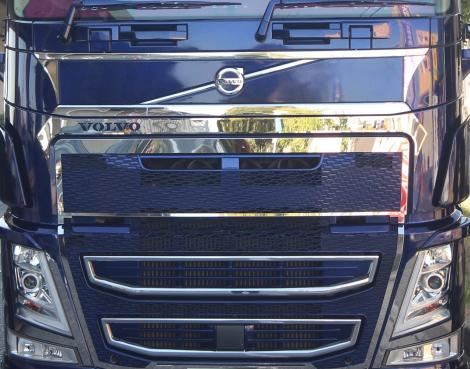 Upper Mask 3-piece set for VOLVO FH4 <アッパーマスク3点セット>