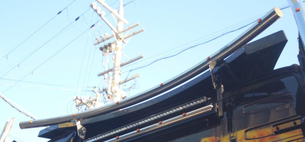 Roof Liner 70 for VOLVO FH4 <ルーフバー>