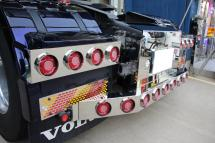 Rear Lights Kit & Rear Bumper Bar for VOLVO FH4 <テール&リアバンパー>