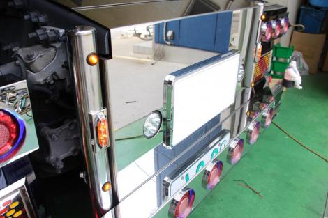 Back Chassis Twin Bar for VOLVO FH4 <バックシャーシツインバー>