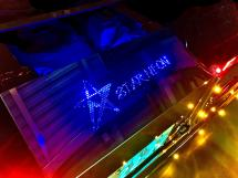 Star Neon Chassis Cover for SCANIA NEXT GENERATION R&S <シャーシカバー>