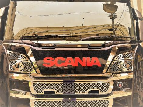 Upper mask application R/L for SCANIA NEXT GENERATION R&S<アッパーマスク>