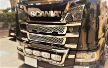 ☆Star Neon Front Mask Cover for SCANIA NEXT GENERATION R Series☆ <スターネオン フロントマスクカバー>
